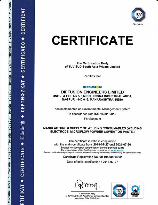 ems certificate certification unit certificates